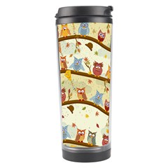 Autumn Owls Travel Tumbler