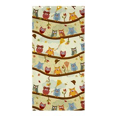 Autumn Owls Shower Curtain 36  X 72  (stall)