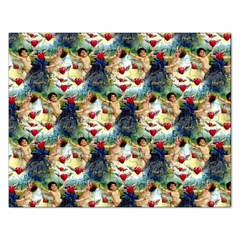 Vintage Valentine Cherubs Jigsaw Puzzle (Rectangle)