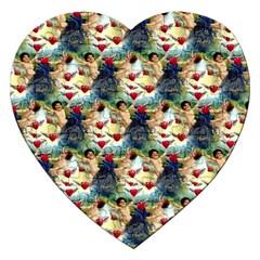 Vintage Valentine Cherubs Jigsaw Puzzle (Heart)