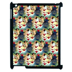 Vintage Valentine Cherubs Apple iPad 2 Case (Black)