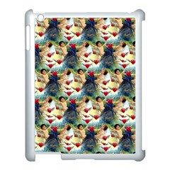 Vintage Valentine Cherubs Apple iPad 3/4 Case (White)