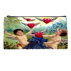 Vintage Valentine Cherubs Pencil Case