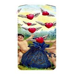 Vintage Valentine Cherubs Memory Card Reader (Rectangular)