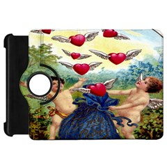 Vintage Valentine Cherubs Kindle Fire HD 7  (1st Gen) Flip 360 Case