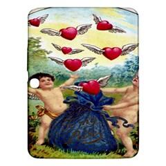 Vintage Valentine Cherubs Samsung Galaxy Tab 3 (10.1 ) P5200 Hardshell Case