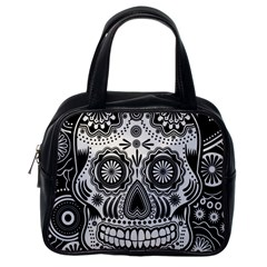 skull Classic Handbag (One Side)