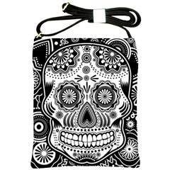 skull Shoulder Sling Bag