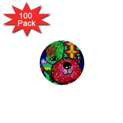 Pug 1  Mini Button (100 pack)