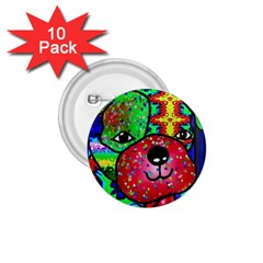 Pug 1 75  Button (10 Pack)