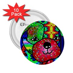Pug 2.25  Button (10 pack)