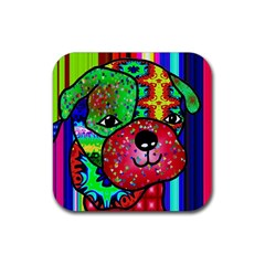 Pug Drink Coasters 4 Pack (square)