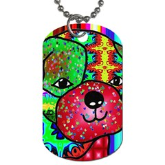 Pug Dog Tag (One Sided)