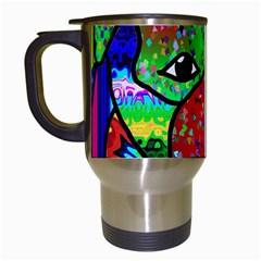Pug Travel Mug (White)