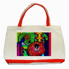 Pug Classic Tote Bag (Red)