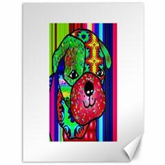 Pug Canvas 36  X 48  (unframed)