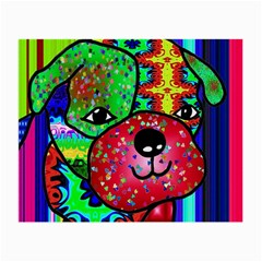 Pug Glasses Cloth (Small, Two Sided)