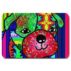 Pug Large Door Mat