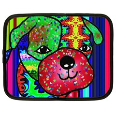 Pug Netbook Sleeve (large)