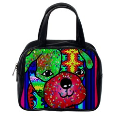 Pug Classic Handbag (one Side)