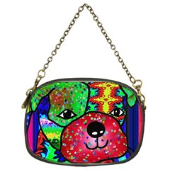 Pug Chain Purse (two Sided)