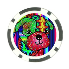 Pug Poker Chip (10 Pack)