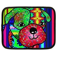 Pug Netbook Sleeve (XXL)