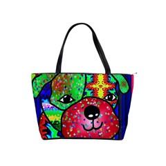 Pug Large Shoulder Bag