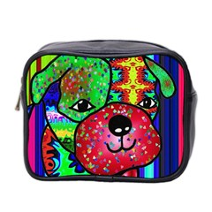 Pug Mini Travel Toiletry Bag (Two Sides)