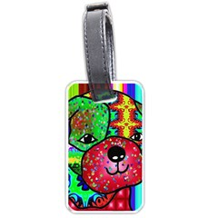 Pug Luggage Tag (one Side)