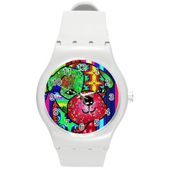 Pug Plastic Sport Watch (Medium)