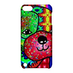 Pug Apple Ipod Touch 5 Hardshell Case With Stand