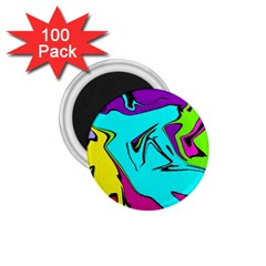 Abstract 1.75  Button Magnet (100 pack)