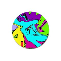 Abstract Magnet 3  (Round)