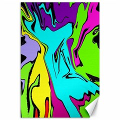 Abstract Canvas 12  X 18  (unframed)