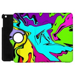 Abstract Apple Ipad Mini Flip 360 Case