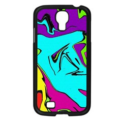 Abstract Samsung Galaxy S4 I9500/ I9505 Case (black)