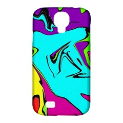Abstract Samsung Galaxy S4 Classic Hardshell Case (PC+Silicone)