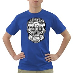 Skull Mens' T-shirt (Colored)