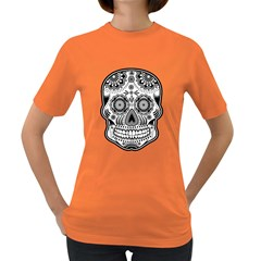 sugar skull Women s Dark T-Shirt