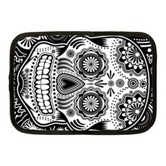 Sugar Skull Netbook Sleeve (medium)