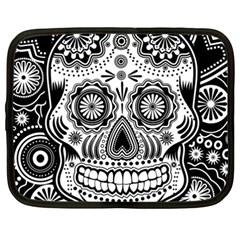 Sugar Skull Netbook Sleeve (XXL)