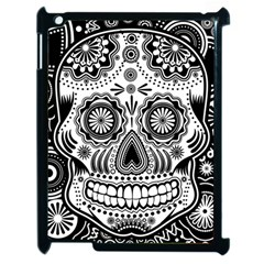 Sugar Skull Apple iPad 2 Case (Black)