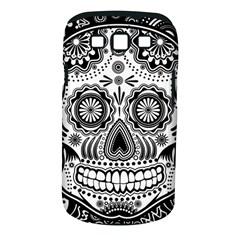 Sugar Skull Samsung Galaxy S Iii Classic Hardshell Case (pc+silicone)