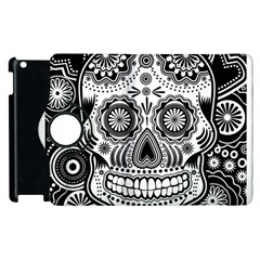 Sugar Skull Apple iPad 3/4 Flip 360 Case
