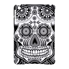 Sugar Skull Apple Ipad Mini Hardshell Case (compatible With Smart Cover)