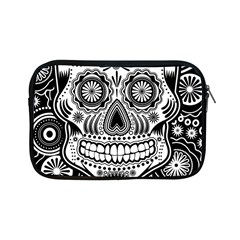 Sugar Skull Apple iPad Mini Zippered Sleeve