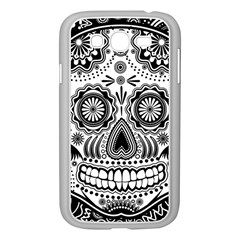 Sugar Skull Samsung Galaxy Grand DUOS I9082 Case (White)
