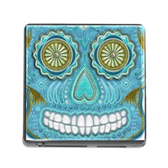 Skull Memory Card Reader With Storage (square)