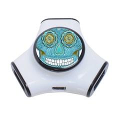 Skull 3 Port USB Hub